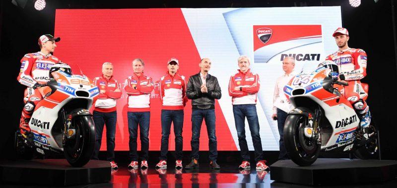 Presentazione Ducati Pirro al quinto anno