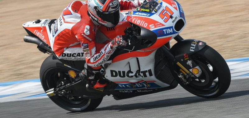 Pirro conclude i test MotoGP a Jerez