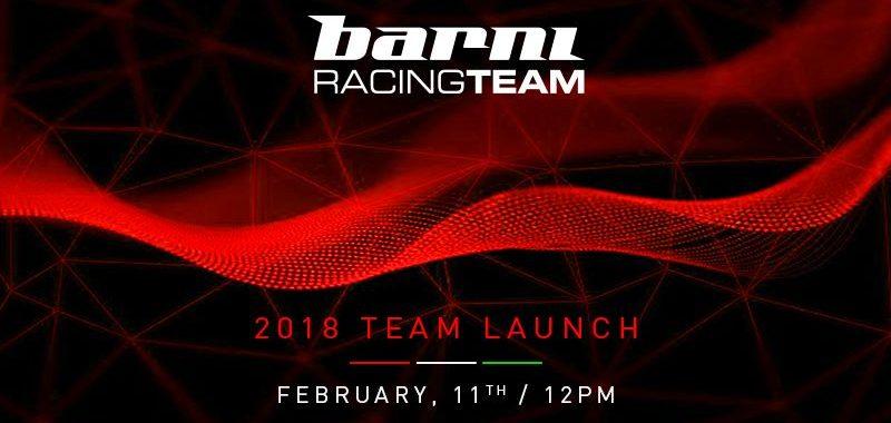 DIRETTA della presentazione del Barni Racing Team