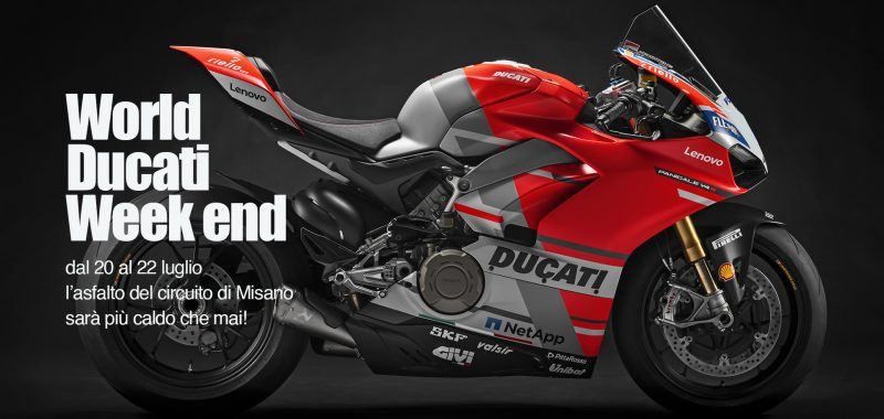 TUTTO PRONTO PER IL WORLD DUCATI WEEK END A MISANO