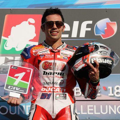 Pirro vince il sesto titolo Superbike nel CIV con la Ducati del Team Barni