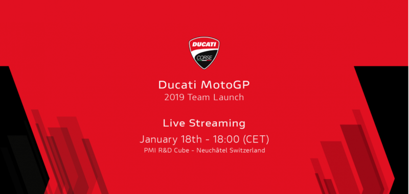 Ducati MotoGP 2019 Team Launch