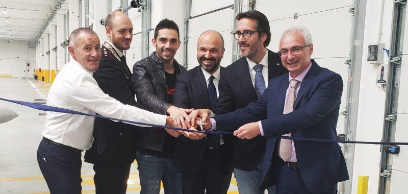 Michele Pirro inaugura la nuova sede GLS di Schio