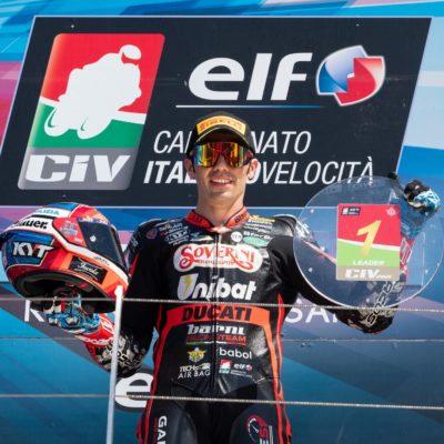 Pirro fa tris di vittorie nel CIV Superbike